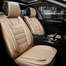 whole luxury leather car seat covers universal automotive seat covers interior accessories for peugeot 3008 301 207 206 accessories car seat covers for