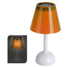 Solar Tafellamp Oranje