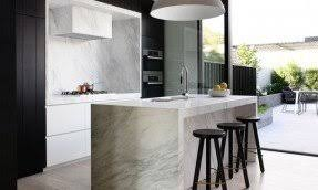 contemporary home bar furniture. modern contemporary kitchen with calcutta marble island bar bench top home furniture r