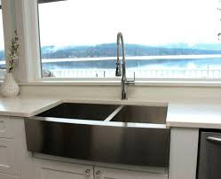stainless steel farm sink tips for installing a stainless steel farmhouse sink at stainless steel farm sink with drainboard