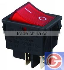 electrical rocker switch t125 55 for electric fireplace image