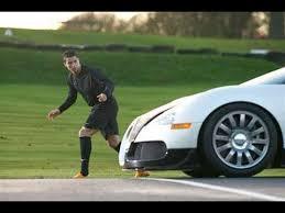 Cristiano ronaldo's collection of bugatti cars is the stuff of dreams. Cristiano Ronaldo Vs Bugatti Veyron Youtube