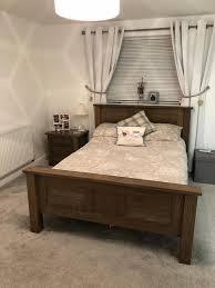 dark oak bedroom furniture set
