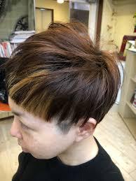 ツーブロック ラインアート ショート モードtme Hair川崎小田 Tme Hair