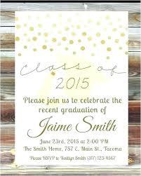 Graduation Party Invitation Wording Ideas Open House Food