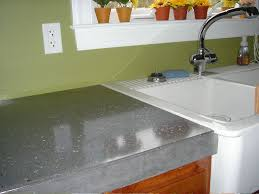 polished concrete countertops