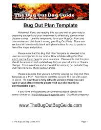 build your custom bug out plan