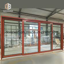 top quality aluminum horizontal sliding glass door for central america pictures photos