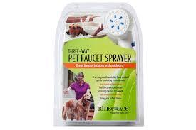 Bath a Dog   Faucet Dog Shower   3-Way Pet Faucet Sprayer   Rinse Ace