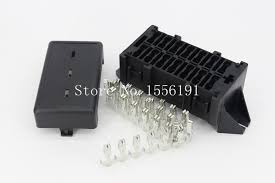 online get cheap automotive fuse terminals aliexpress com 14 way auto fuse box assembly terminals dustproof fuse box fuse box mounting fuse box car part