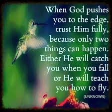 Positive Religious Quotes Classy When God Pushes You To The Edge Life Quotes Quotes Positive Quotes