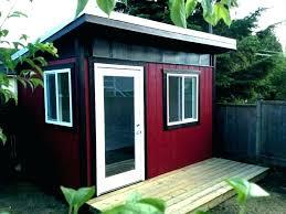 Prefab Shed Office Backyard Plans For Sale