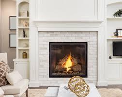 glass fireplace doors