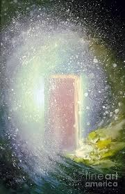 open door painting. Heavens Open Door Painting By Vonicia Verton R
