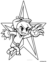 37 Dessins De Coloriage Zelda Imprimer