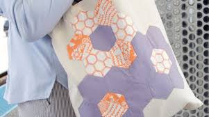 Paper Piecing Flower English Paper Piecing Quilted Flower Tote Make