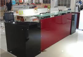 cheap reception desk in dubai/office reception front desk