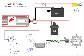 msd 6a ignition control in megasquirt® efi controller be sure to install the wing diode and the ed capacitor omit the dave capacitor and jumper the john zener