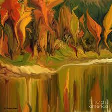 autumn leaves digital art autumn leaves abstract 28 by haya matorin