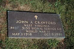 PFC John Albert Crawford (1916-1961) - Find A Grave Memorial