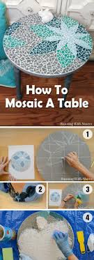 diy tabletop ideas. 18 stunning diy mosaic craft projects for easy home decor diy tabletop ideas o