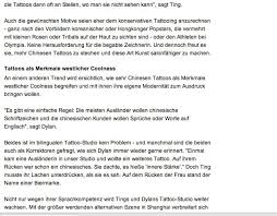 News Shanghai Tatoo