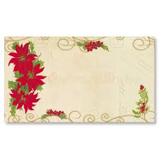 flat place cards noel collage flat place cards paperdirects