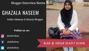 indian makeup beauty ger ghazala naseem from indian beauty bloom
