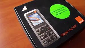 Old Phone] Sagem my700X - model retro ...