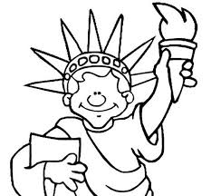 Small Picture New Jersey Statue of Liberty Coloring Page Download Print