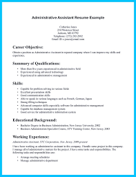 Entry Level Office Assistant Resumes Resume Templates Sampler Administrative Position Assistant Job