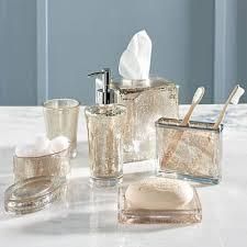 mercury glass bathroom accessories. Mercury Glass Bathroom Accessories Grandin Road