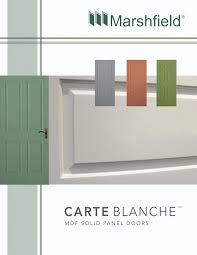 Marshfield Carte Blanche by Horner Millwork - issuu