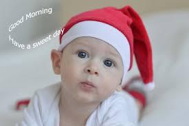 cute good morning baby wallpaper free