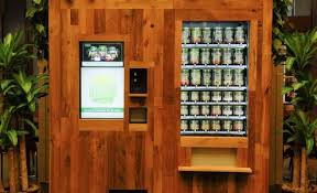 Salad Vending Machine Chicago Custom LSN Big Ideas Innovative Chicago Vending Machine Sells Fresh Salads