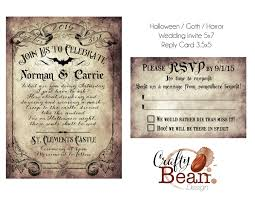 custom vintage victorian halloween goth wedding invitation & Gothic Wedding Invitations Templates Gothic Wedding Invitations Templates #22 gothic wedding invitations templates