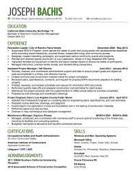 Job Title in Resume