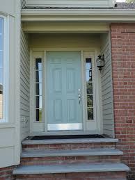 front door kick plateCarnoustie Lane Wyeth Blue Front Door