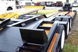 new 2017 eager beaver lowboy trailer 50gsl br steel outriggers patented roto rings ® swivel 360º 100% sealed modular wiring harness boom well stock number tba
