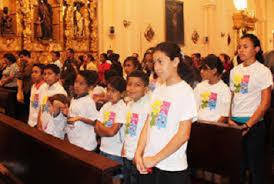 ir a  misa con niños