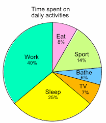 Pie Chart Definition Excel 28 Experienced Pie Chart Of Daily Activities