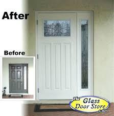 replacement front door glass replacement door lite frame doors interior entry door inserts window installation front