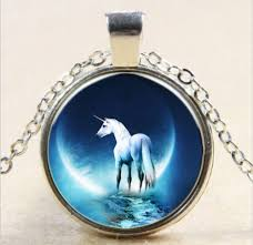 costume necklaces and pendants unicorn