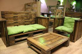 recycled pallet living room furniture