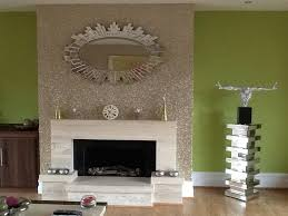 chimney wall cover decor