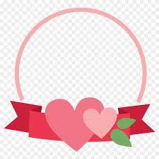 banner heart frame cookie cutter banner frames png transpa 103992