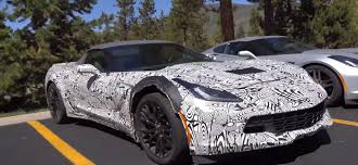 2015 Chevrolet Corvette Z06 Convertible Spied Testing ahead of ...