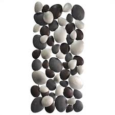>moe s pebble wall art in black mj 1005 02 moe s pebble wall art in black