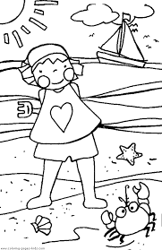 Easy Toddler Summer Coloring Pages 5459 Toddler Summer Coloring