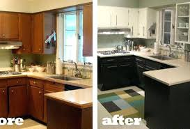 u shaped kitchen remodel before and after excellent kitchen remodel before and after u shaped kitchen remodel with black cabinets with u shaped